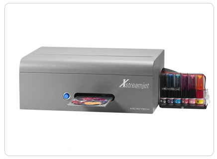 Microtech XstreamJet Disc Printer  Bulk Ink, Continuous Ink